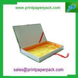 Het aangepaste het In reliëf maken van de Luxe Vakje van het Document van de Gift van het Vakje van de Juwelen van het Document van het Karton Stijve Verpakkende