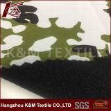 tissu polaire micro métallisé de composé d'ouatine de tissu d'extension de la voie 100d 4