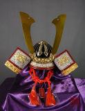 Casco giapponese portabile del samurai per visualizzazione o Cosplay