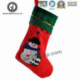 Zak de van uitstekende kwaliteit van Kerstmis van de Sok van de Decoratie van Camo van de Manier met Aangepast Embleem