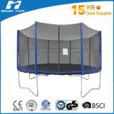 12FT runde Trampoline mit Sicherheitsnetz nach innen und draußen
