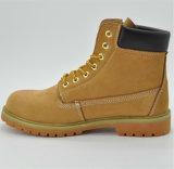 Zapatos de seguridad de trabajo del vaquero de cuero de Ufl002 Nubuck