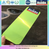 Epoxy Polyester Green Fluorescence Transparent Spray Polvo de revestimiento