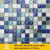 8mm Eis-Bruch-Entwurfs-Mosaik für Wand-Dekoration-Island-Serie (Island-Blende/grün-blaues/Schwarz-Weiß)