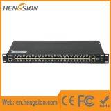 48 Ethernet ed interruttore di rete gestito gigabit Port delle 4 fibre