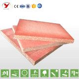 Tarjeta incombustible del MGO del vidrio de fibra, material de construcción del panel de pared