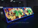 LED a doppia faccia senza fili esterno che fa pubblicità allo schermo del LED, P8mm
