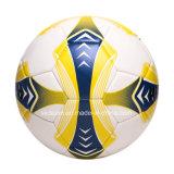 Futebol oficial do tamanho 5 do projeto colorido do disconto