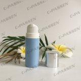 Botella privada de aire de los PP del plástico azul con el casquillo de plata de Alumite para el empaquetado del cosmético (PPC-PAB-035)