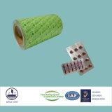 Аттестованная ISO фармацевтическая алюминиевая фольга Ptp для упаковывать Capsules 8011 H18