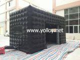 Tente gonflable commerciale de cube en événement pour la publicité
