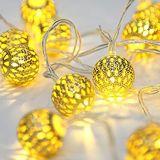 Батарея метра - приведенный в действие шнур рождества СИД праздничный освещает Ideal для венчания
