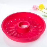 Chine Bakeware Supplier Silicone Cake Mold Wreath Cake Pan
