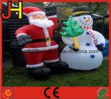 クリスマスの装飾のための膨脹可能なスノーマン