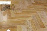La raspa de arenque del suelo del entarimado del roble multiplica el suelo de madera dirigido/el suelo de la madera dura