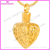 Le collane per la cremazione incenerisce il pendente del cuore con le graffiature Ijd9745