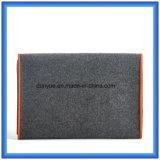 """Bolsos portables respetuosos del medio ambiente promocionales de la cartera de la computadora portátil del fieltro de las lanas con la cremallera para el aire de Apple MacBook FAVORABLE y la """" computadora portátil 13"""