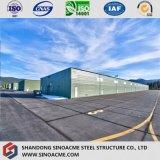 倉庫のためのプレハブの軽い鉄骨構造