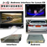 Interfaccia Android del sistema di percorso di GPS video per Lexus 2009-2011 es Rx ecc