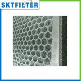 Carbón activo del filtro de aire HEPA de nido de abeja