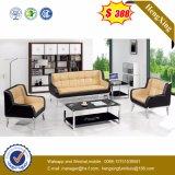 Sofa réglé de bureau de cuir véritable de sofa moderne (HX-CS052)