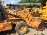 Caricatore usato dell'escavatore a cucchiaia rovescia del caso 580m da vendere