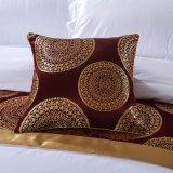 綿繻子が付いているイン3部分の贅沢350のカウントの寝具の
