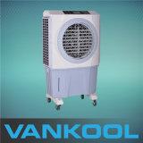 refrigerador de ar industrial móvel evaporativo industrial do refrigerador de ar do tanque de água 60L com controle de umidade