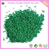 Alta densidad en verde Masterbatch para las bolsas de plástico