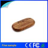 Il regalo promozionale incide il bastone di legno del USB di marchio