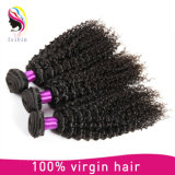 Cabelo Curly indiano do Virgin por atacado barato de Unprocessd do Virgin