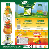 L'étiquette de rétrécissement de PVC pour la bouteille peut emballage