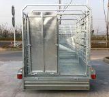 Reboque soldado de alta velocidade do caminhão do reboque dos rebanhos animais com 1000mm
