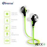 Auriculares sem fio estereofónicos de Bluetooth, esportes Earbuds com HD Mic