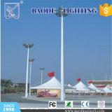 25m/1000Wランプ円形Q345鋼鉄ポーランド人の高いマストの照明(BDG-25)