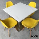 Mobilier de restaurant Table de salle à manger en marbre en pierre pleine surface (T1705220)
