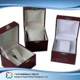ギフトか腕時計または宝石類(XC-1-003)のための木かペーパー包装ボックス