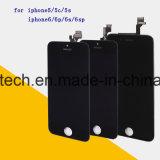 iPhone 5 5s 5c Se 6 6s 6plus 6splus LCDの表示のための携帯電話の部品