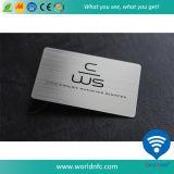Изготовленный на заказ нержавеющая визитная карточка металла