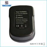 батарея електричюеского инструмента 14.4V 3.0ah Ni-MH для Блачк & Дечкер Bd-14.4b