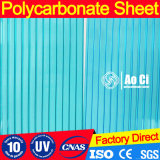 Folha 100% do PC da cavidade do policarbonato de Bayer com proteção 50um UV