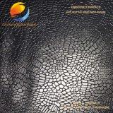 돋을새김한 패턴을%s 가진 합성 가죽 (FSB16D21A)의 물자가 고품질에 의하여 구두를 신긴다