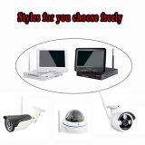 2017new様式4CHホームセキュリティーのための無線WiFi IPのカメラの機密保護の登記制度CCTV