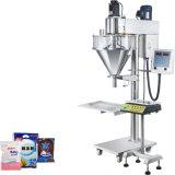 Polvo de la máquina de rellenar y máquina de etiquetado automáticos de la maquinaria del lacre