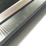 5.0mm lederne Korn Belüftung-Vinylfliese/lose Lage/freier Lagen-Bodenbelag