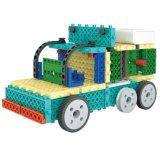 los bloques teledirigidos del kit RC del bloque 1488716-Trailer fijaron el juguete creativo 76PCS - color de la educación al azar