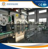 Chaîne de production potable de rétrécissement de machine à étiquettes de chemise automatique