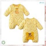 Qualitäts-Baby kleidet beige neugeborenes Playsuit