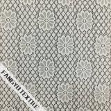 Tela de nylon do laço do projeto do teste padrão da pétala da flor