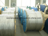 Hot-DIP ASTM B363のための亜鉛めっきによって電流を通される鋼線の繊維(ガイワイヤー)